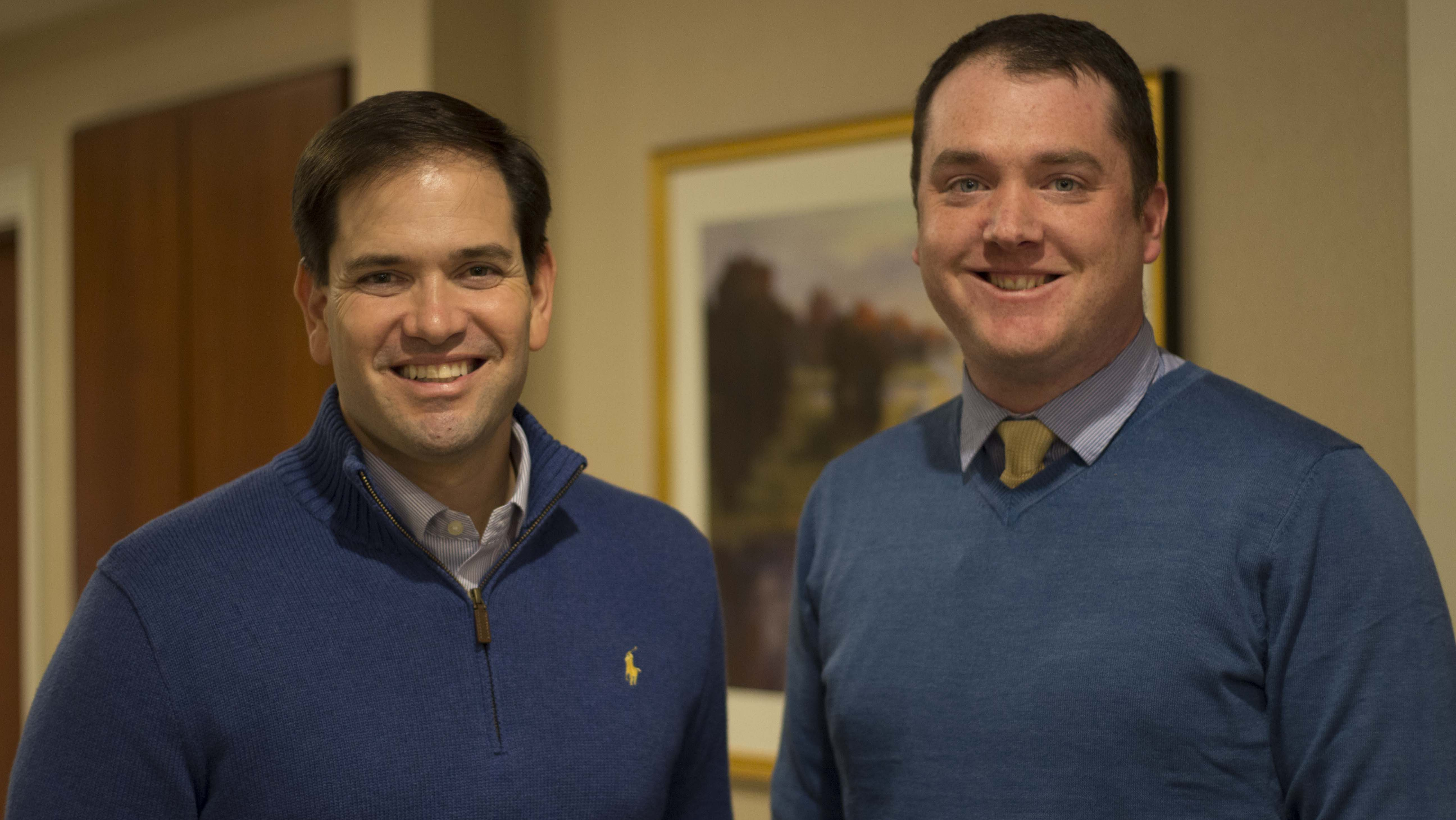Marco Rubio and Chris Ryan