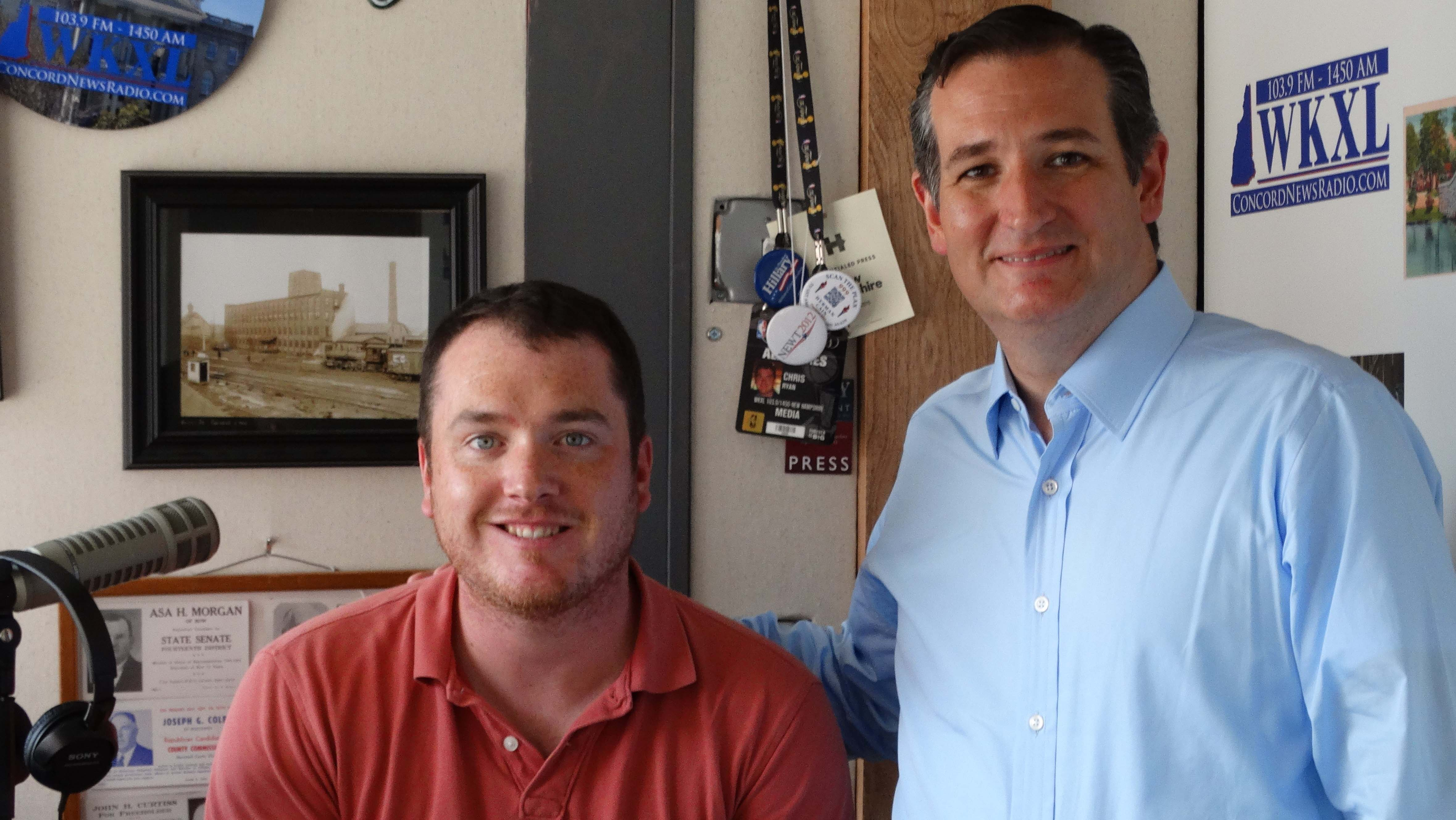 Ted Cruz and Chris Ryan
