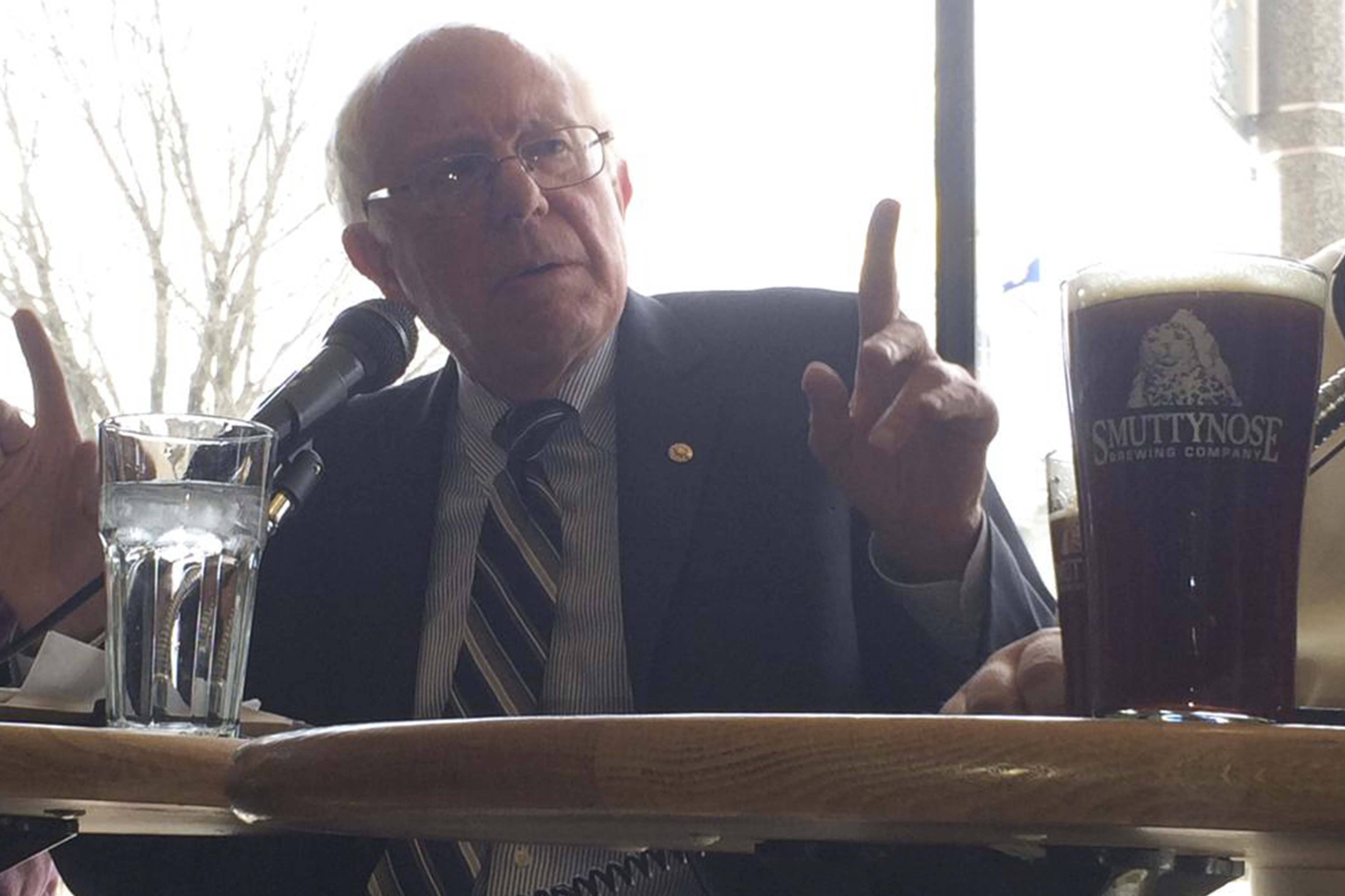 Bernie Sanders Cropped NH Now